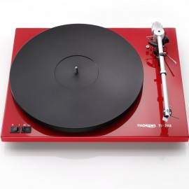 THORENS TD 203 GLOSS RED